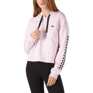 Vans Leila Off Duty Crop Hoodie Sweater
